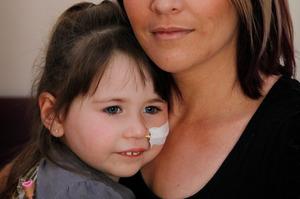Kerri Arnold wants to plan a future for Aalyha, 4. Photo / Christine Cornege