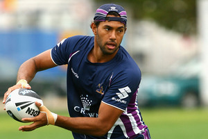 Melbourne Storm back Dane Nielsen will bolster the Warriors' stocks at centre next season. Photo / Getty Images