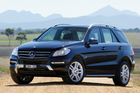 Mercedes-Benz M-Class. Photo / Supplied