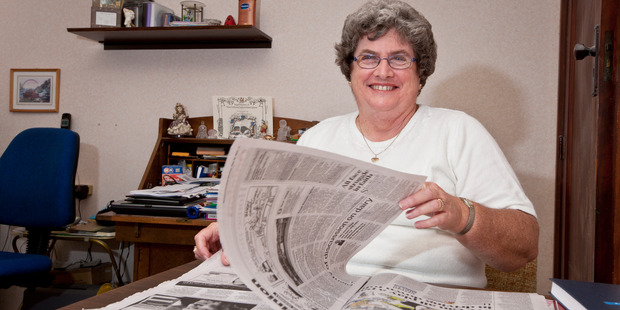 Papers are important to Frances Parnell. Photo / Tracey Grant