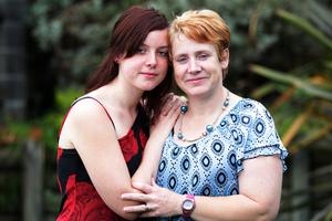 Kimberley and Christine North. Photo / Doug Sherring