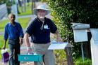 MAF staff were at Wolverston St. Photo / Jason Dorday