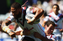 Manu Vatuvei got back on the scoresheet. Photo / Getty Images
