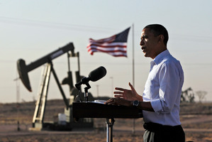 Researchers say the oil market remains focused on the economy and the US is growing slower than expected. Photo / AP