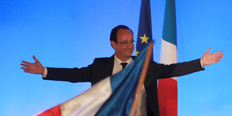 President-elect Francois Hollande. Photo / AP