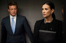 Simon Baker and Demi Moore in Margin Call. Photo / Supplied