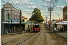 No 4. End of the Tramline Kingsland, Circa 1912. The George Baloghy piece is being exhibited at Artis in Parnell. Photo / Supplied