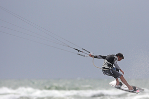 The sailing fraternity could argue there is room for both windsurfing and kiteboarding at the Olympics. Photo / APN
