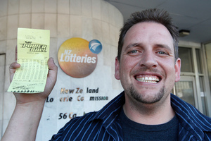 Te Kauwhata Lotto winner Trevor is probably right when he says his $26 million won't buy him happiness. Photo / Mark Mitchell