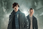 Benedict Cumberbatch and Martin Freeman in Sherlock.  Photo / Supplied