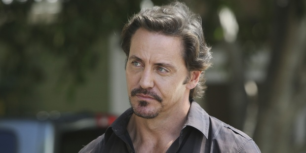 Despite playing many a role as a tough guy on TV, Charles Mesure says he's squeamish when it comes to blood. Photo / Supplied