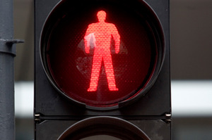 Pedestrian crossing. Photo / Richard Robinson
