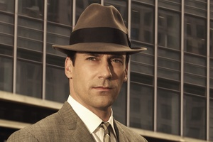 Jon Hamm as the dapper Don Draper in Mad Men.  Photo / AP