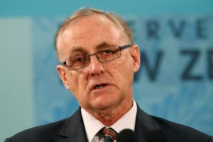 Reserve Bank Governor Alan Bollard. Photo / Mark Mitchell