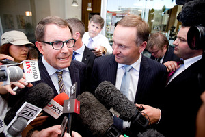 Only 10 per cent of electors would vote for John Banks now. Photo / Dean Purcell
