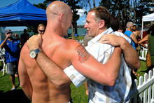John Key said at the Big Gay Out festival that civil unions were enough. Photo / Jason Dorday 