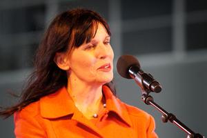 Hamilton Mayor Julie Hardaker. Photo / Christine Cornege