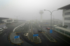 Fog at Auckland International Airport has disrupted domestic flights this morning. Photo / NZ Herald