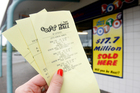 1.8 Kiwis have bought a Lotto ticket over the past three months. Photo / Christine Cornege