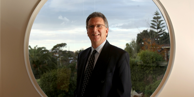 John Hawkins, new chairman of the Shareholders Association, at his home in Rothesay Bay, Auckland. Photo / Dean Purcell