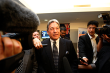Winston Peters of New Zealand First. Photo / File