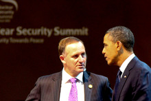 Prime Minister John Key said he was not 'against' gay marriage, on the same day US President Barack Obama announced his support for it. Photo / Supplied