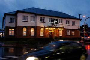 The Kamo Hotel was the scene of an aggravated robbery last night. Photo / John Stone