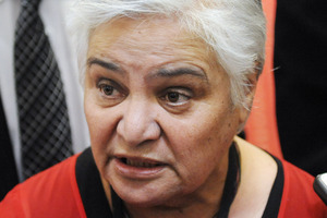 Whanau Ora Minister Tariana Turia said she was aware of the matter. File photo / Ross Setford
