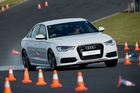 Getting around the track without killing a few cones is not as easy as you might think. Photo / Lee Howell/Kaptured.com
