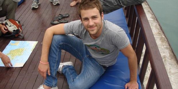 Brad Coker died in the Fox Glacier plane crash in September 2010. Photo / supplied