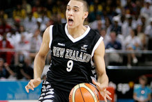 Tall Black Lindsay Tait is keen on a return to the Breakers basketball club to fill their vacancy as a backup guard. Photo / Wayne Drought.
