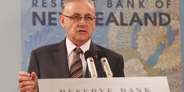 Reserve Bank of New Zealand Governor Alan Bollard