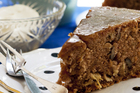 Brand glazed apple spice walnut cake. Photo / Babiche Martens