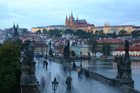 Prague is one of the destinations passengers aboard the new Danube Express train service can choose to visit. Photo / House of Travel