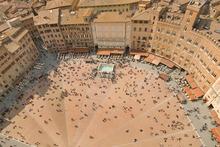 Siena's impressive Piazza del Campo. Photo / Thinkstock