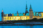 The impressive Kronborg Castle on the shore of Helsingor is said to have inspired Shakespeare's 'Hamlet'. Photo / Ted Fahn