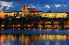 Prague by night. Photo / Thinkstock
