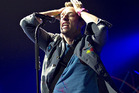 Chris Martin and Coldplay have honoured late Beastie Boy Adam Yauch. Photo / AP