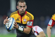 Aaron Cruden kicked 100 percent, made 13 tackles, three offloads in the tackle, and scored a try. Photo / Getty Images