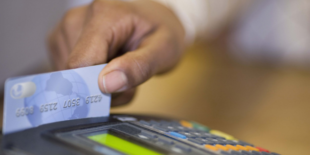 Card spending was down in April, according to the latest Paymark figures.
