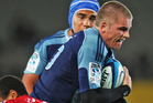 Gareth Anscombe has scored almost 40 percent of the Blues' total points to date. Photo / Getty Images