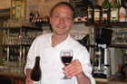 Chef Otis at Le Taxi Jaune cafe in Rue Chapon, Paris. Photo / Michele Hewitson