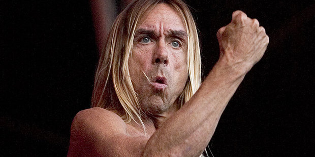 Iggy Pop is releasing an album in French. Photo / Richard Robinson
