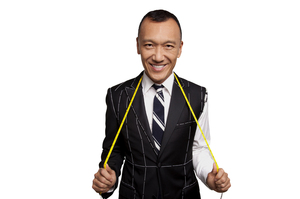 Elle creative director Joe Zee stars in All on the Line. Photo / Supplied