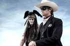 Johnny Depp, left, as Tonto in The Lone Ranger. Photo / Supplied