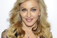 Madonna at the launch of her new perfume, Truth or Dare. Photo / AP