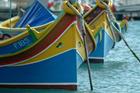 The Marsaxlokk waterfront is a riot of colour. Photo / Thinkstock