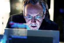 Kevin Spacey in Margin Call.  Photo / Supplied
