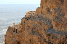 The views from Masada, the fortress built by King Herod beside the Dead Sea's shores, are mind-bending. Photo / Thinkstock