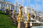 The fabulous fountains at Peterhof Palace in St Petersburg. Photo / Thinkstock